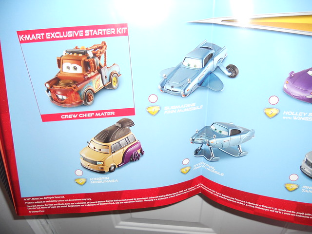 disney cars 2 kmart collectors event june 25 2011 extras (9)