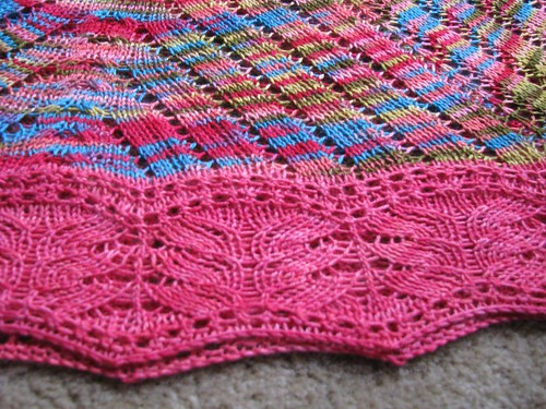 Edging of Shawl