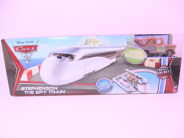 disney cars 2 stephensen spy train playset (1)