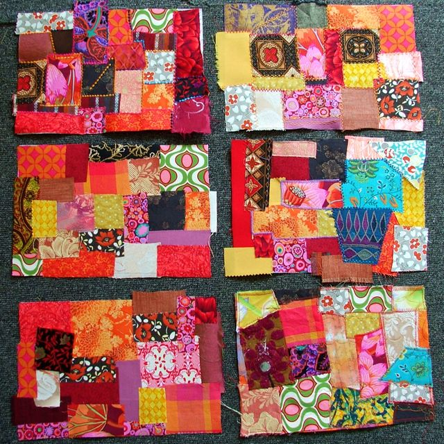 patchwork for book covers