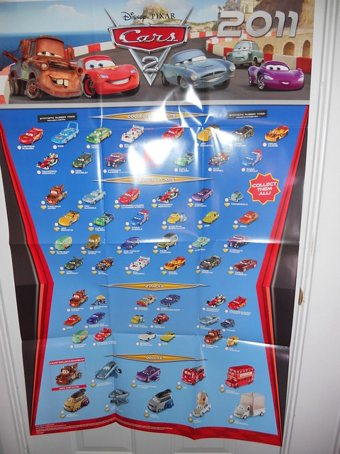 disney cars 2 kmart collectors event june 25 2011 extras (5)