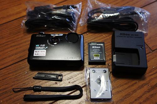 Nikon COOLPIX S1100pj Unbox