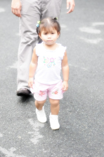 Lia at Gio's Christening