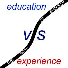 Education vs Experience