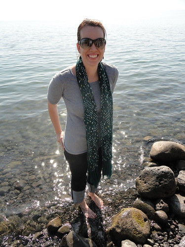 Me and Sea of Galilee