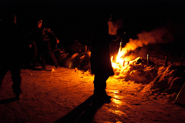 feu sur neige 2