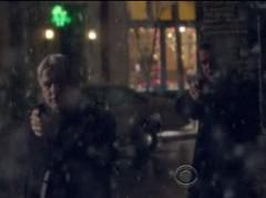 Arrest in snow