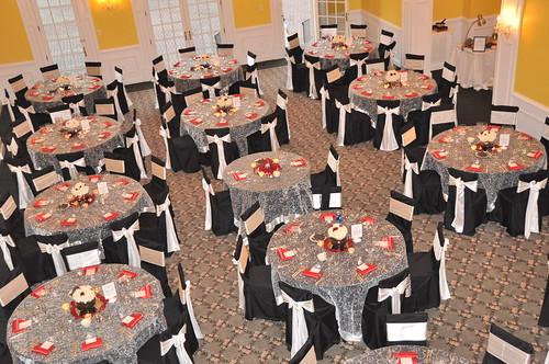 Reception Ballroom at Rose Hill Manor in Leesburg, Virgnia