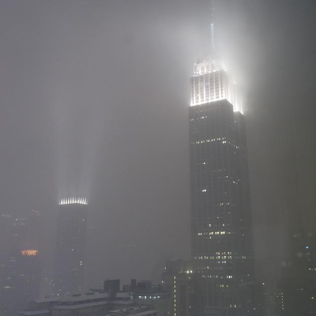 Empire State Building tonight around 10.30 pm