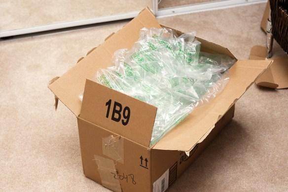 Amazon Box Superfluously Overflowing