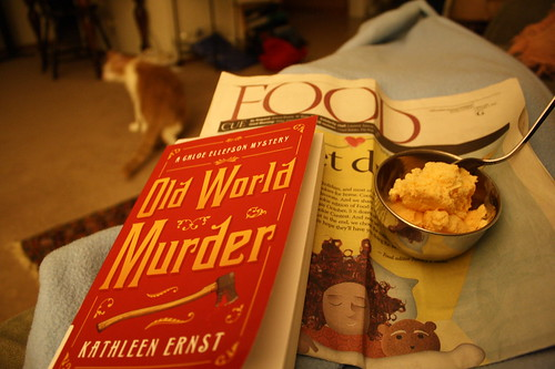 Old World Murder, Food section, Pumpkin ice cream