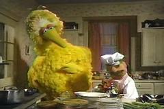 Big Bird and the Swedish Chef