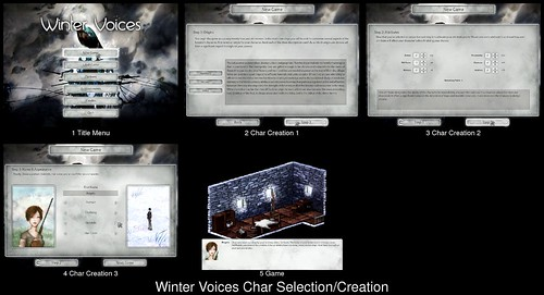Character Creation in Winter Voices
