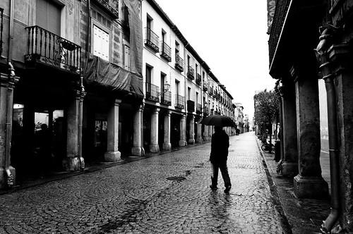 Alcalá en ByN