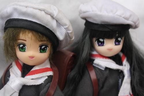 Cardcaptor Sakura- Sakura and Tomoyo Dolls