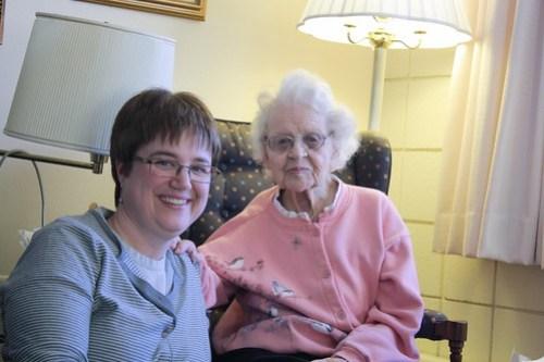 Grandma Frances and me 122810