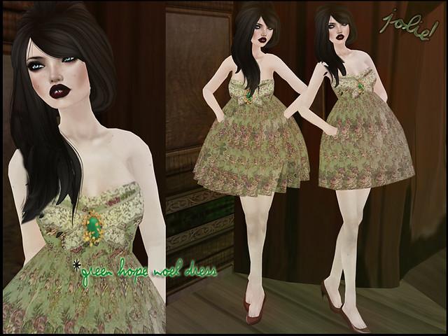 green hope noel dress ad