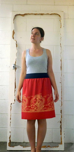 Dragon skirt