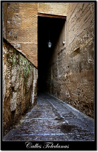 Calles de Toledo, cobertizo.