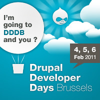 Drupal Developer Days 2011 @ Brussels