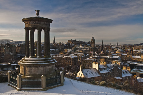 Calton in the Snow