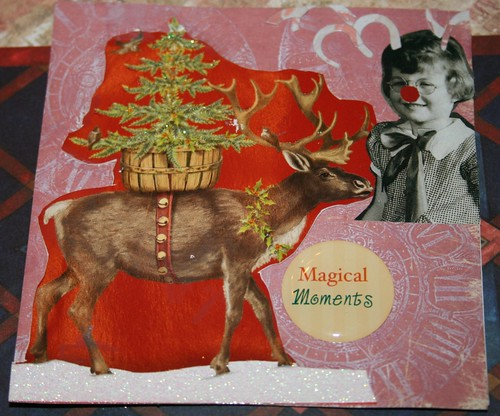 "Magical Moments 4"" x 4"" Collage Card"