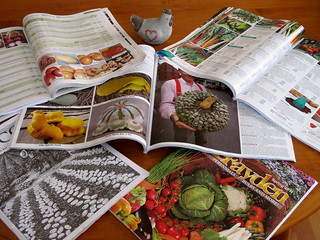 Seed catalogs are arriving