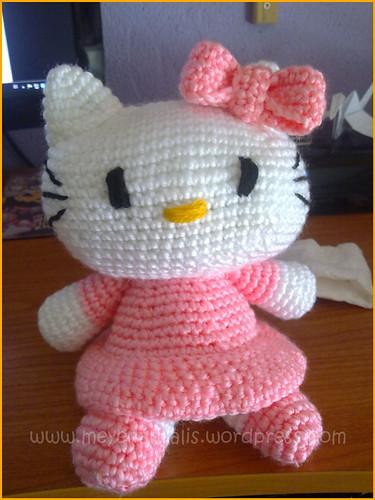 ¡Y también segunda Kitty grandota! Este pedido también fue de mi hermana =)