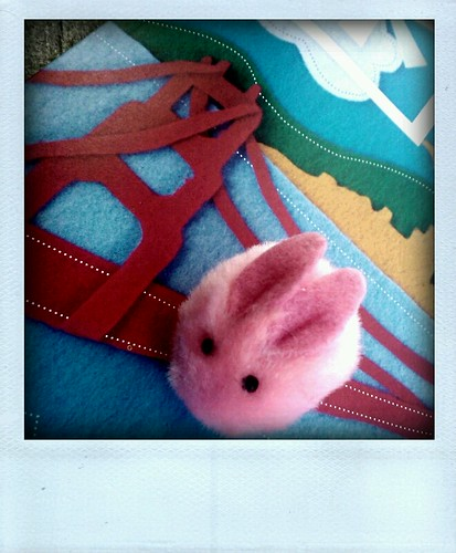 Day 15, Traveling Rabbit goes to SF, One Object 365 Days, #Rabbit2011 @flickr #photos