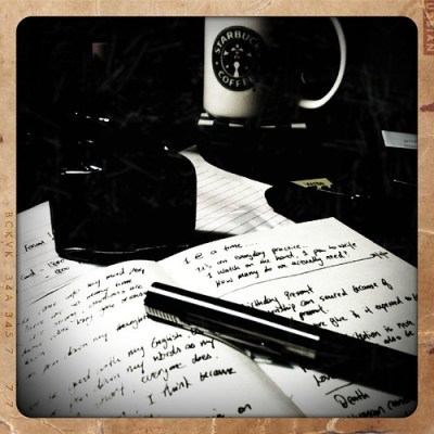 The writing journey begins