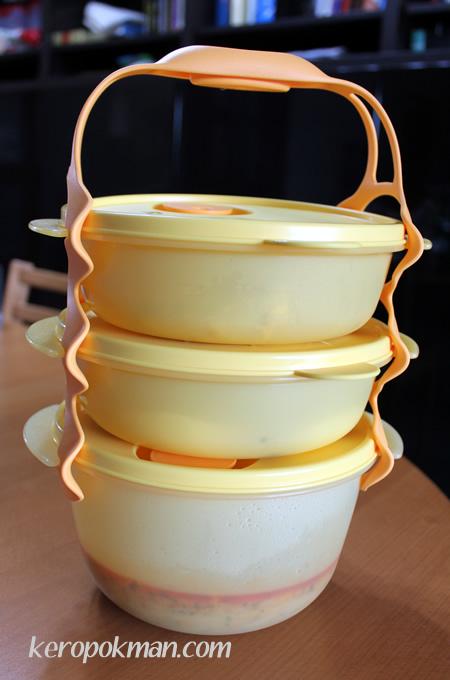 Tupperware Eco Tapau Set