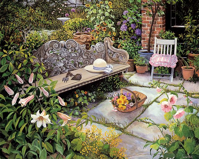 Art_painting_of_Susan_Rios_05_The_Gardener