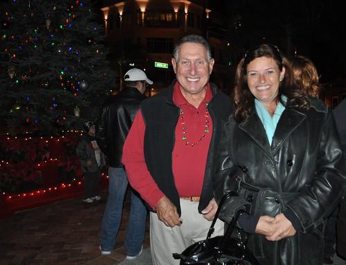 City of Punta Gorda Mayor Harvey Goldberg & Kelly Hudson, Florida Travel & Lifestyles, Dec. 3, 21010, Punta Gorda, Fla.