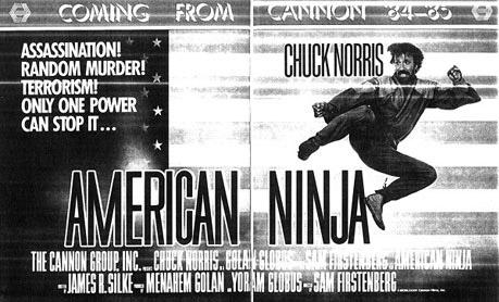 Chuck Norris in American Ninja