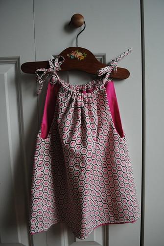 Toddler's dress - reversible