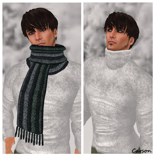 KOSH Polar Scarf  Christmas Hunt $0L  INDI Baker Turtleneck $1L