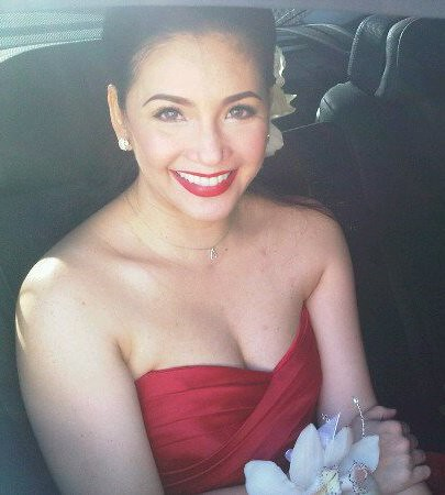 Regine Velasquez Red Wedding Gown Earthlingorgeous