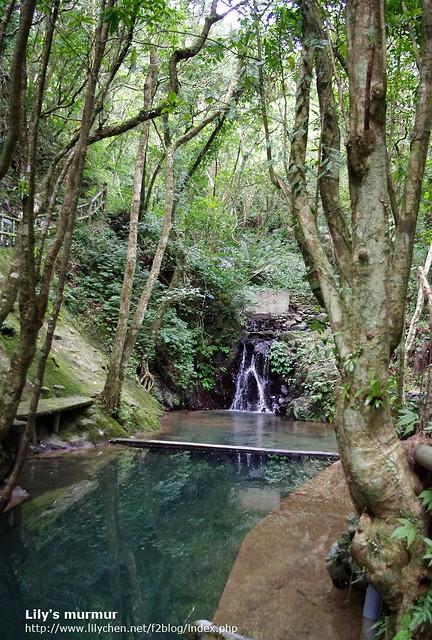 水源地收集口附近,這裡的水是從山上下來的,非常清澈。