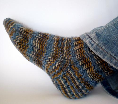 Herringbone Rib Socks