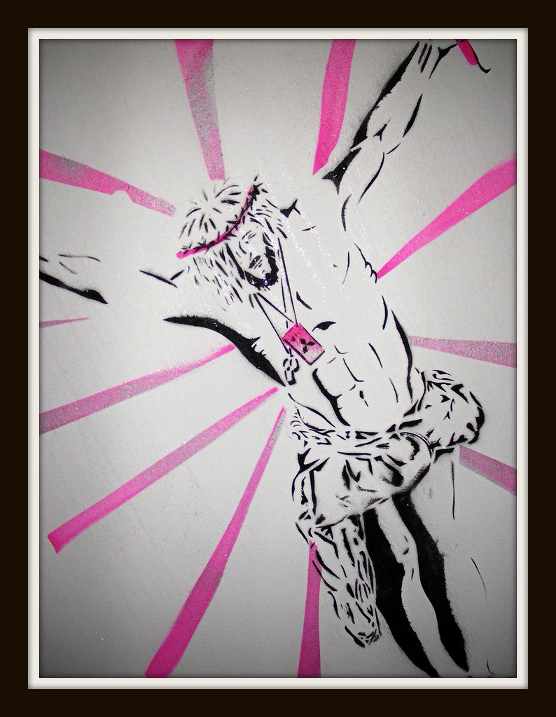 "Canton Graffiti-""Jesus Raves"""