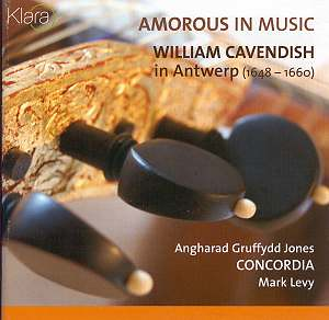 Amorous in Music: William Cavendish in Antwerp (1648-1660)