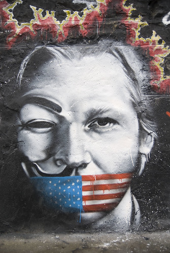 Julian Assange Wikileaks named Man of the Year...