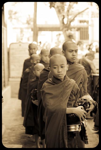 Maha Ganayon Kyaung - Mandalay - Burma