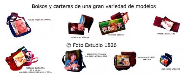 Bolsos y carteras en distintos acabados y tamaños