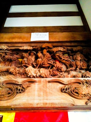 欄間の石川雲蝶