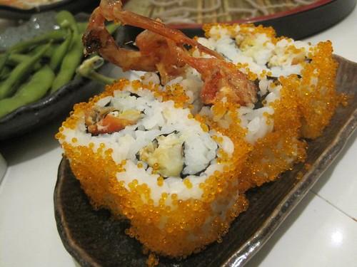 Zen's soft shell crab maki