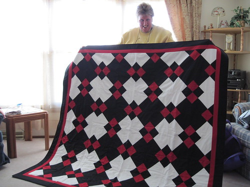 Pat's Crushed Diamonds quilt