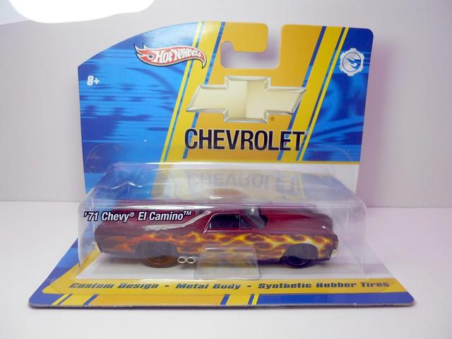 hot wheels 143 custom design '71 Chevy El Camino (1)