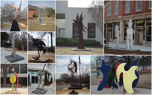 SPACES Sculpture Trail, Huntsville AL