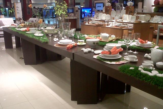 Una mesa bien puesta